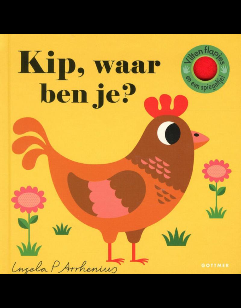 Boeken Boek - Kip waar ben je?