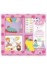 Djeco Djeco - Stickers prinses