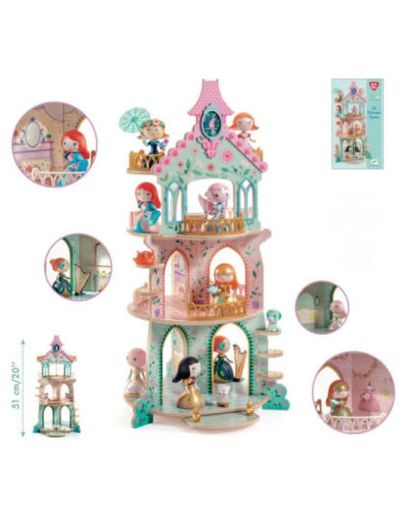 Djeco Djeco - Prinsessen toren
