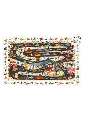 Djeco Djeco - Puzzel rally auto 54 stukjes