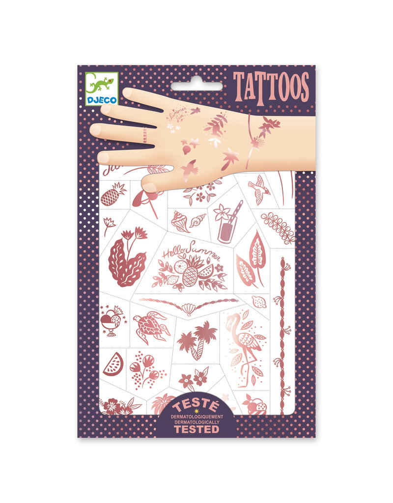 Djeco Djeco - Tattoos Hello Summer
