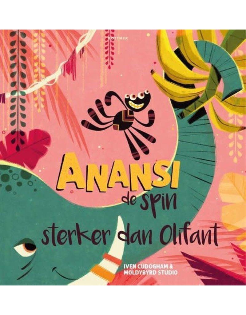 Boeken Boek - Anansi de spin - sterker dan olifant