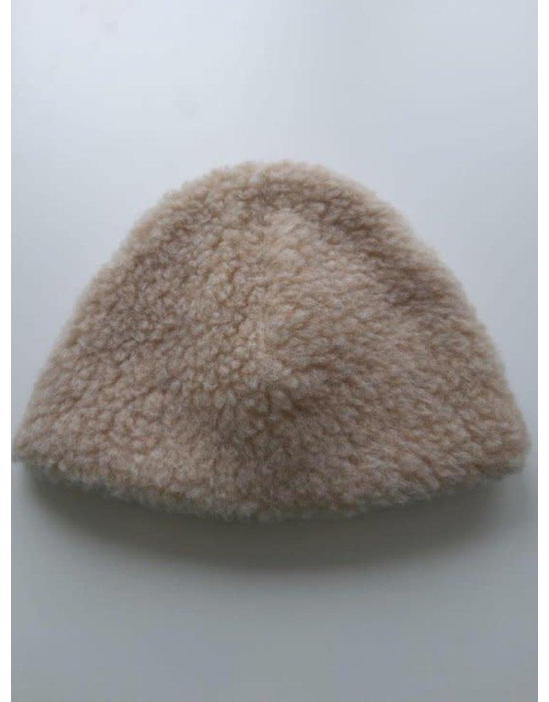 Alwero Alwero - 1308 Beige muts egg kids maat 48 - 50 cm
