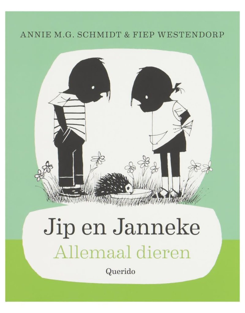 Boeken Boek - Jip & Janneke, Allemaal dieren