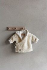 Nanami Nanami jasje teddy off-white, maat 68-74