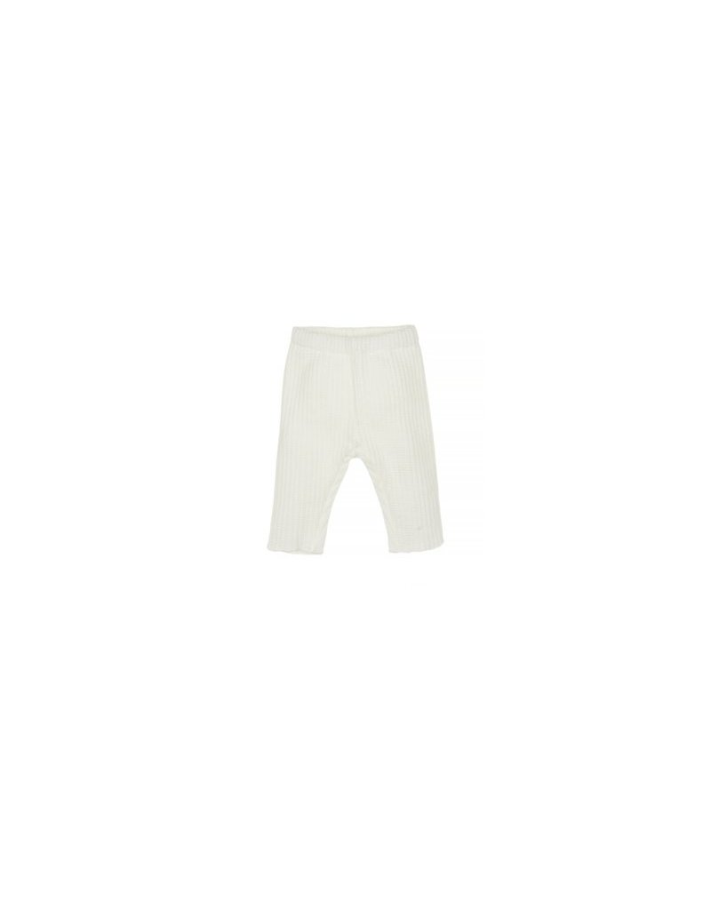 Nanami Nanami baby rib broek off-white, maat 50-56