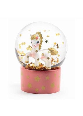 Djeco Djeco - Mini sneeuwbol eenhoorn