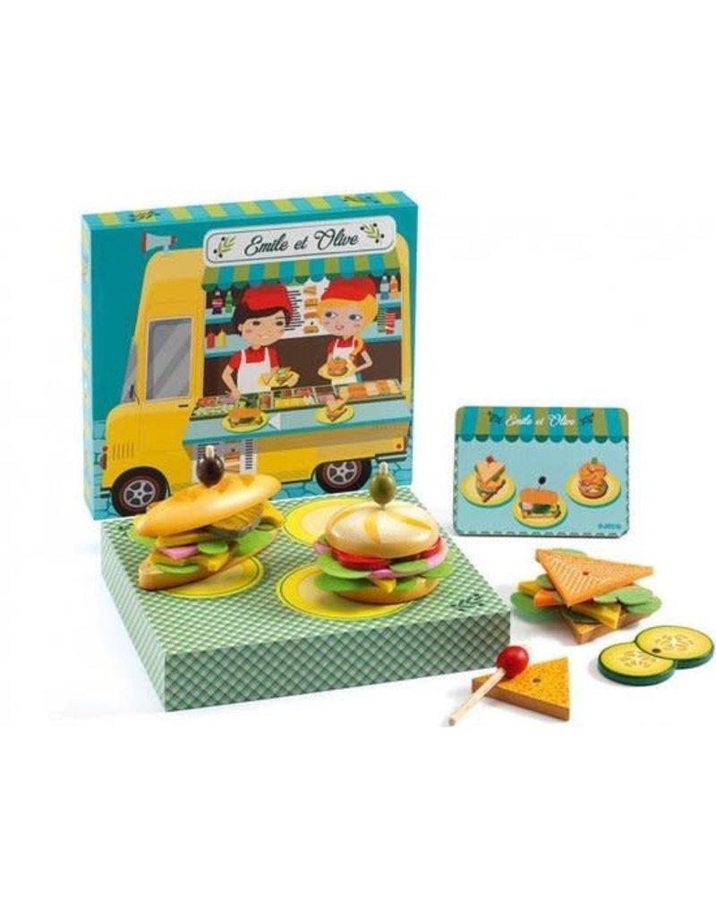 Djeco Djeco - De broodjeswinkel van Emile en olive