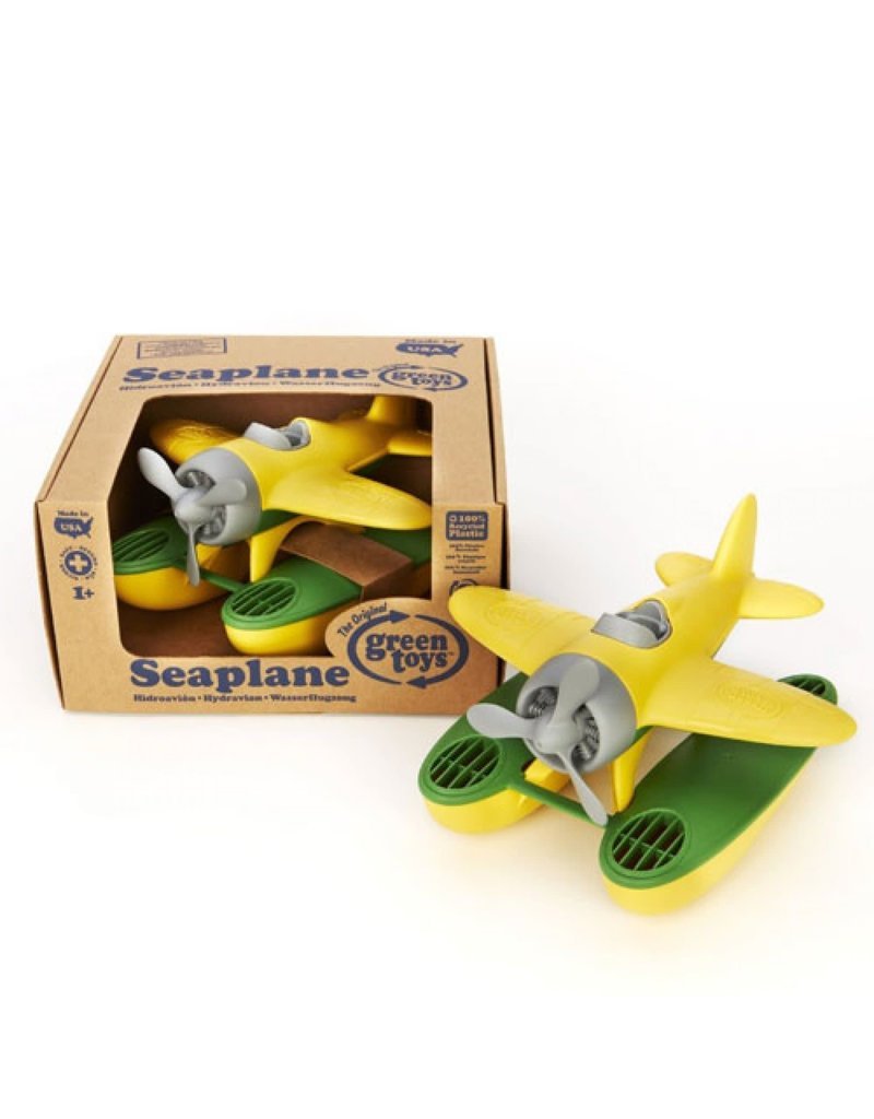 Greentoys Green toys - Watervliegtuig gerecycled - Geel