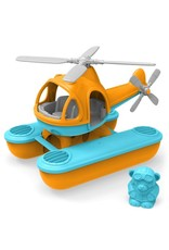 Greentoys Green toys - Zeehelicopter Blauw - Oranje - Gerecycled