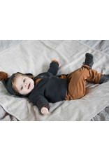 Phil & Phae Phil & Phae - Pompon baby knit cardigan - Charcoal