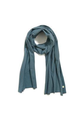 Phil & Phae Phil & Phae - Basic scarf S - Balsam blue