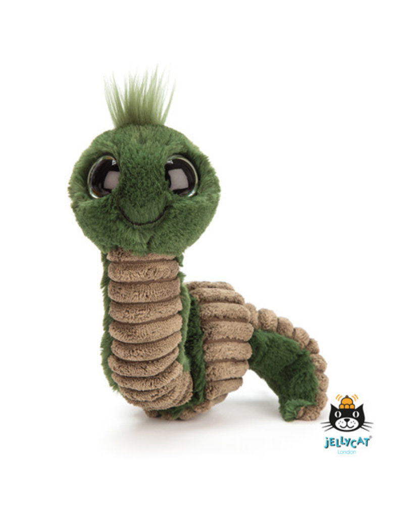 Jellycat Jellycat - Wiggly Worm Green