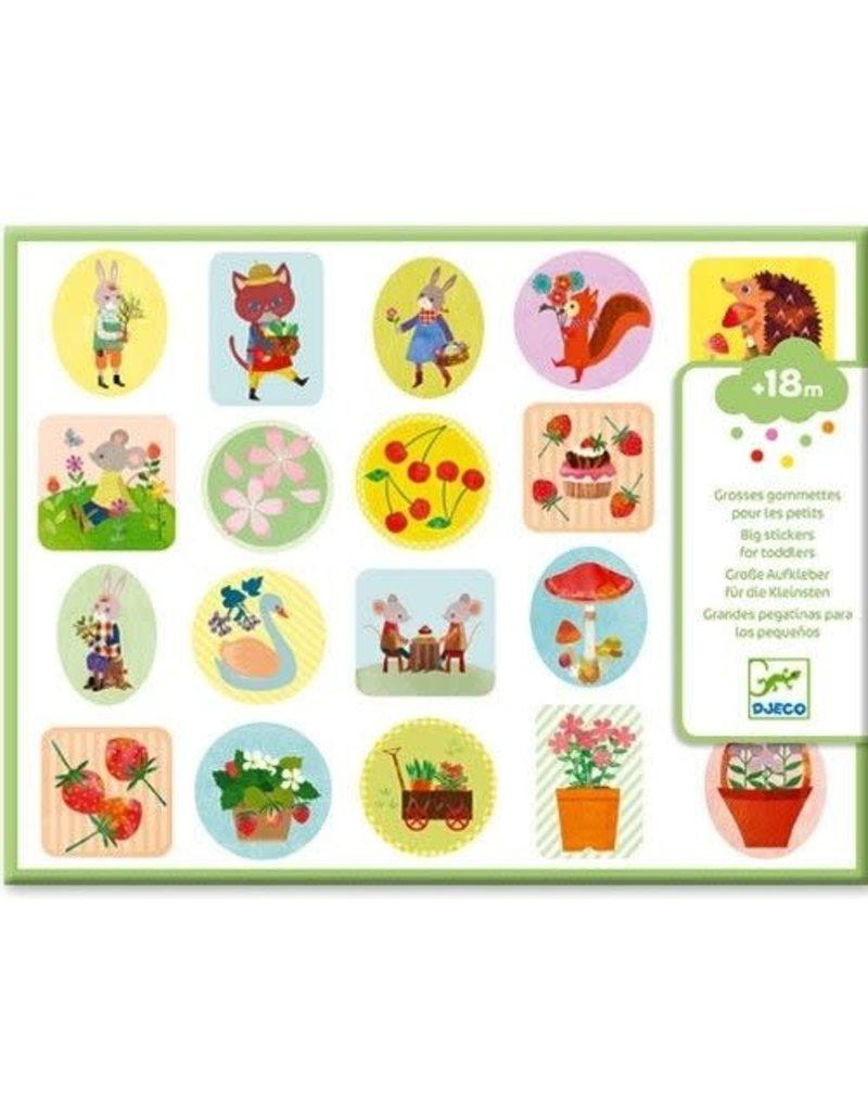 Djeco Djeco - Stickers in de tuin