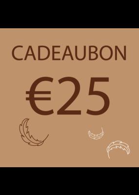 Donsaapje Cadeaubon €25