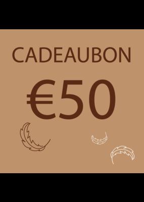 Donsaapje Cadeaubon €50