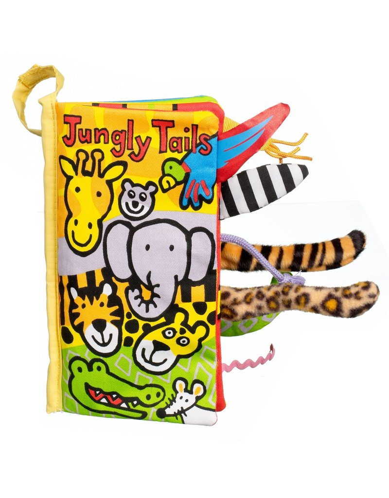 Jellycat Jellycat - Tails Jungly book