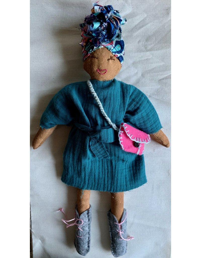 Mamabel Mamabel Cinnamon doll petrol