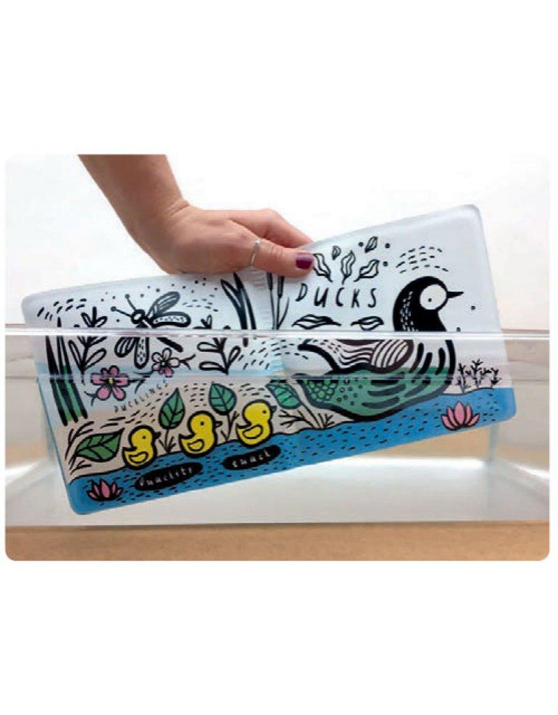 Boeken Badboekje - Wie zwemt er in de zee?