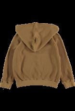 My Little Cozmo My Little Cozmo - Organic cotton waffled hoodie Peanut