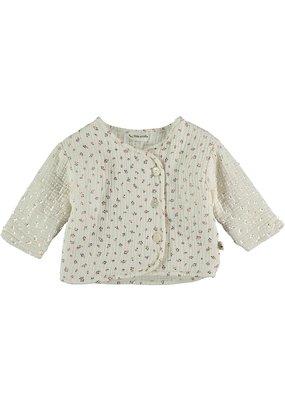 My Little Cozmo My Little Cozmo - Organic liberty baby padding jacket Ivory