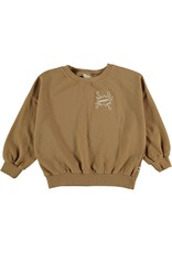 My Little Cozmo My Little Cozmo - Organic fleece kids sweatshirt Peanut