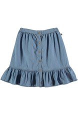 My Little Cozmo My Little Cozmo - Chambray kids skirt Blue