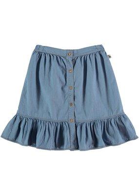 My Little Cozmo My Little Cozmo - Chambray kids skirt Blue