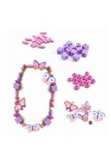 Djeco Djeco - Houten kralen vlinders
