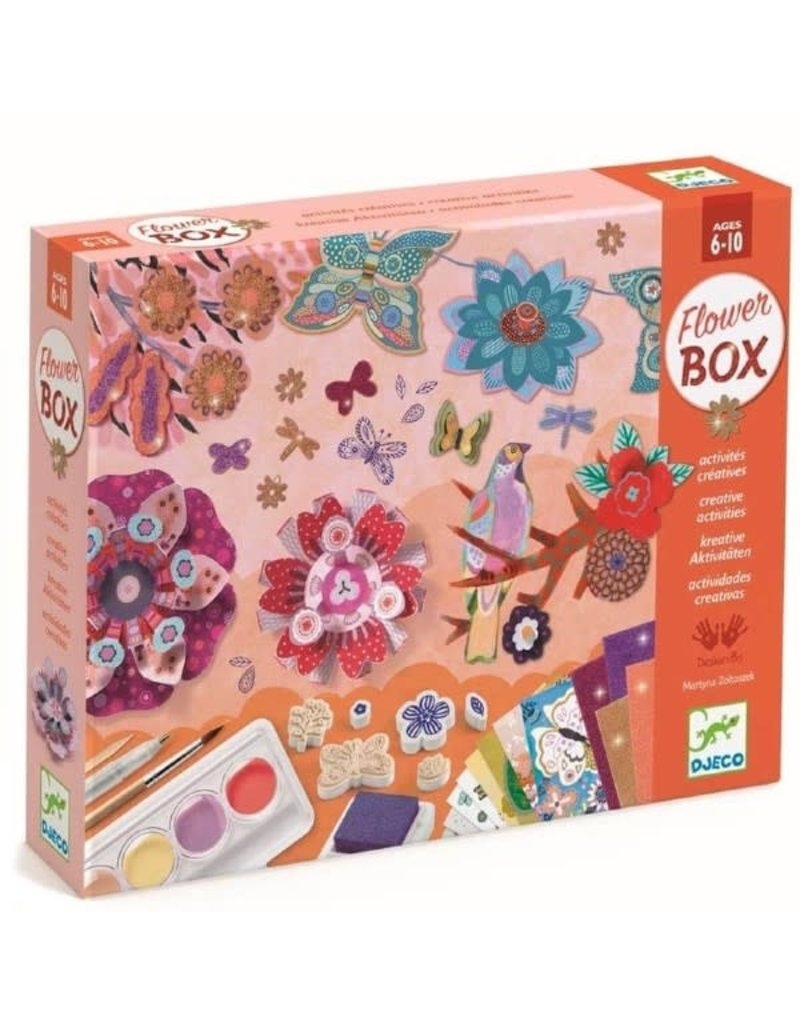 Djeco Djeco - Multi activity box - Bloemen