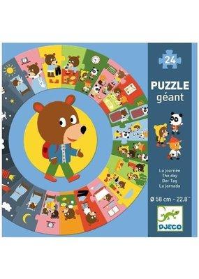 Djeco Djeco - Speelgoed puzzel de dag (24st)