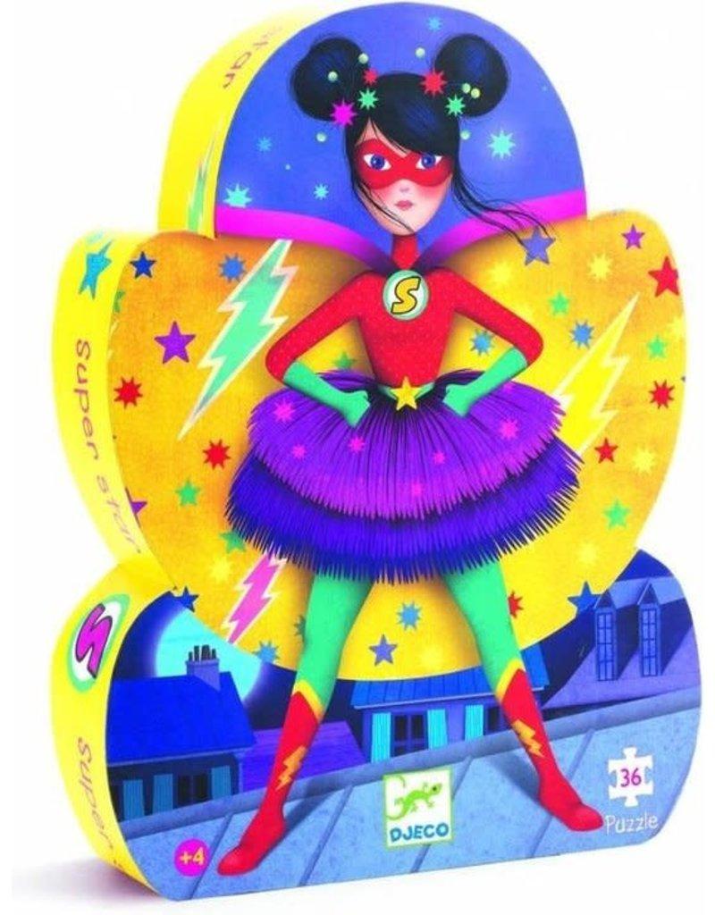 Djeco Djeco - Puzzel superstar (36st)