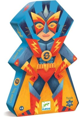 Djeco Djeco - Puzzel laserboy (36st)