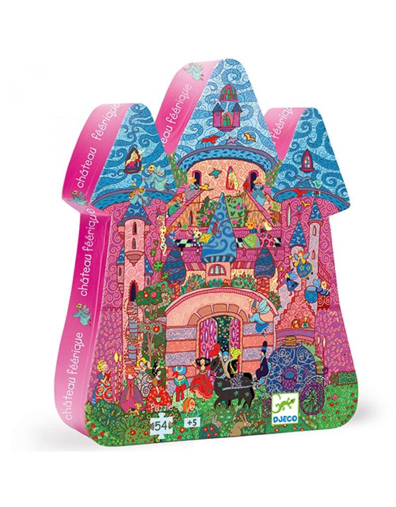 Djeco Djeco - Puzzel het feeën kasteel (54st)