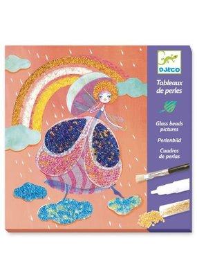 Djeco Djeco - Parelschilderijen sprookjesland