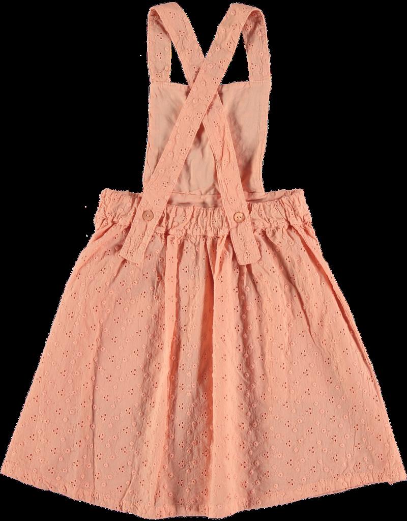 My Little Cozmo My Little Cozmo - Embroidery kids dress Peach