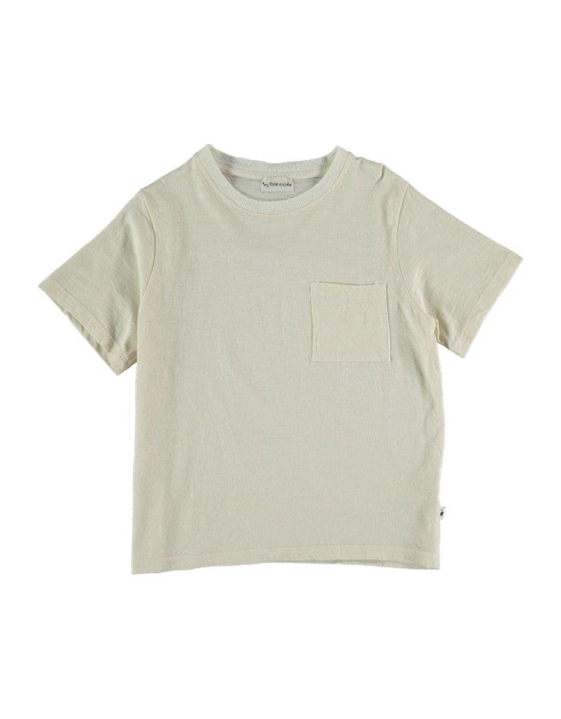 My Little Cozmo My Little Cozmo - Organic flame kids t-shirt Ivory