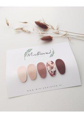 Mini and Loved Mini and Loved - Haarspeldje Noor setje Jolie