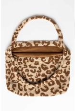 Studio Noos Studio Noos - Teddy leopard ecru mom-bag