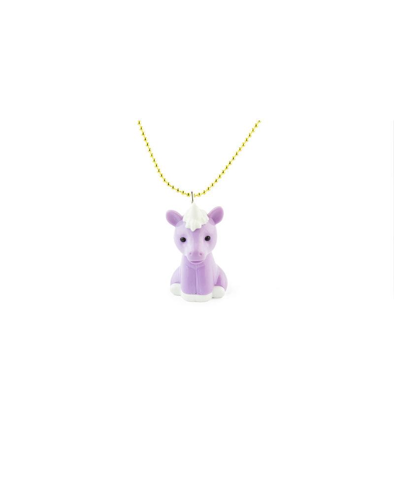Pop Cutie Pop Cutie - X Iwako Sakura Unicorn geel met roze ketting