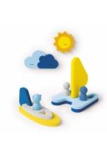 Quut Quutopia - Badfiguren zeilboot badpuzzel
