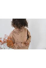 Phil & Phae Phil & Phae - Baby summer sweater stone Warm Biscuit