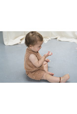 Phil & Phae Phil & Phae - Frotté playsuit Warm Biscuit