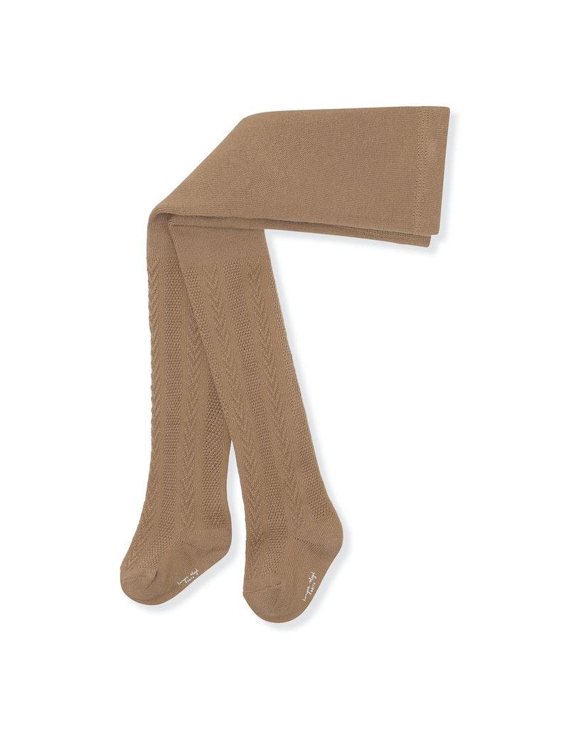 Konges Sløjd Konges Sløjd - Pointelle stockings maillot Almond