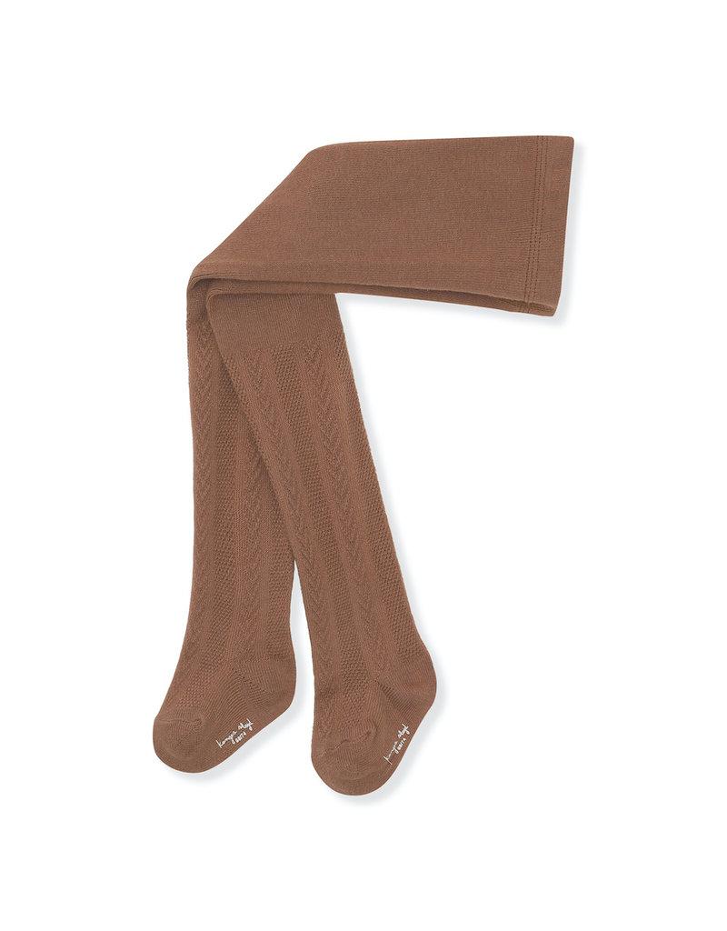 Konges Sløjd Konges Sløjd - Pointelle stockings maillot Choco Bean