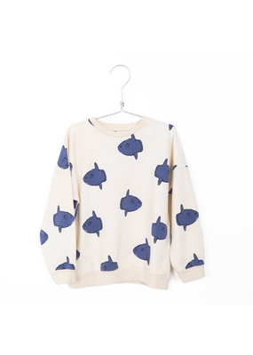 Lötiekids Lötiekids - Sweatshirt Moonfish Off White