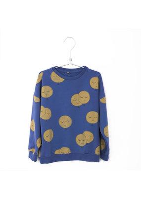 Lötiekids Lötiekids - Sweatshirt Moons Indigo Blue