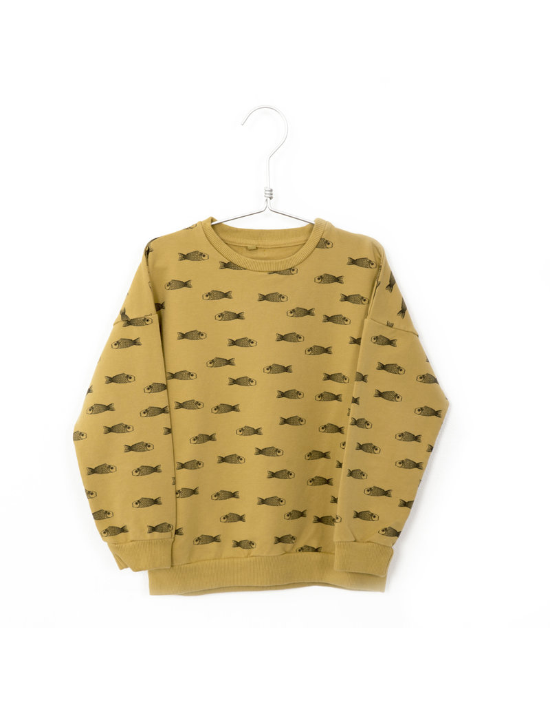 Lötiekids Lötiekids - Sweatshirt Fishes Yellow Sun