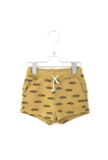 Lötiekids Lötiekids - Shorts Fishes Sun Yellow
