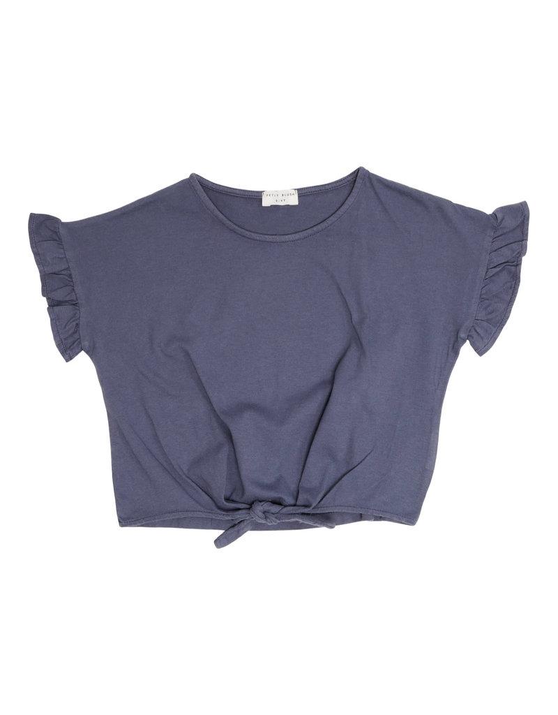 Petit Blush Petit Blush - Knot T-shirt ( Grisaille)